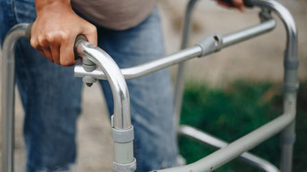 Borrowed walking frames are among the equipment being returned. Picture: Getty Images