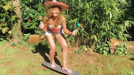 Charlotte Norton, founder of Sidmouth Skate Squad. Picture: Skate Squad