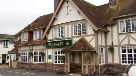 The Balfour, Sidmouth. Ref shs 43 17TI 2350. Picture: Terry Ife