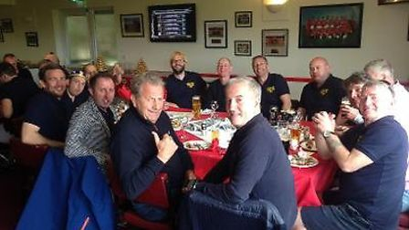 The Golden Boys at one of their post match gatherings. Picture: CONTRIBUTED