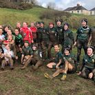 The Sidmouth RFC girls section on their 2019 tour. Picture; SRFC