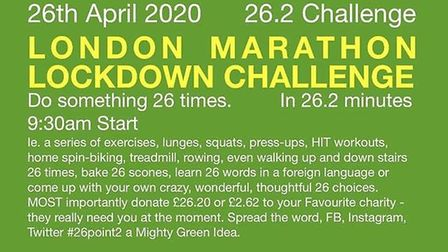 The Sidmouth Running Club April 26 challenge. Picture ARCHANT