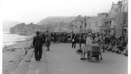 A photograph taken on May 8 1945 in Sidmouth. Picture: Sidmouth Museum