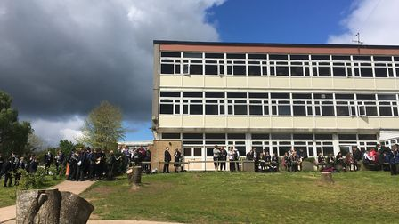 Sidmouth College is working with pupils via online platforms. Picture: Clarissa Place