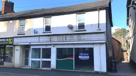 The vacant retail unit which used to house a Costcutter store. Picture: Clive Emson Auctioneers