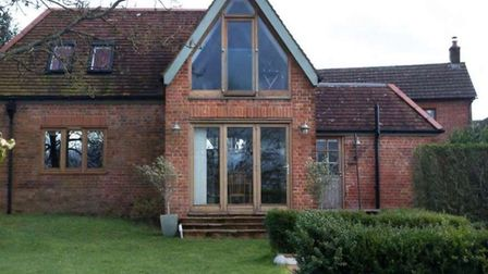 The picture of the converted coach house at Alfington House that was shown to councillors.