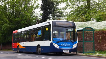 Stagecoach are running on reduced timetables. Picture: Stagecoach