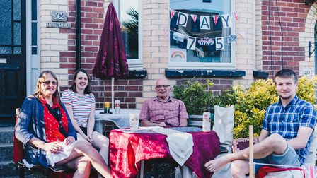 Sidmouth VE Day celebrations Picture: Sarah Hall Photography