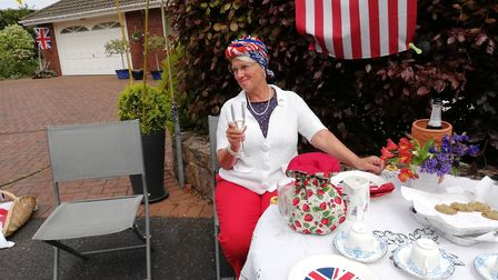 VE Day celebrations at Balfour Gardens Picture: Francine Hayes