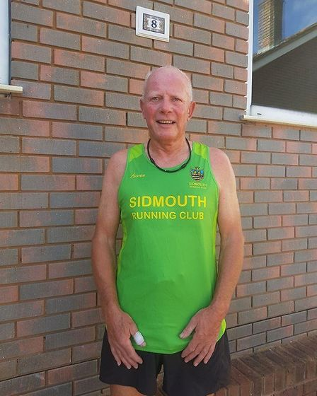 Mighty Green 'King' Terry Bewes. Picture: SIDMOUTH RUNNING CLUB
