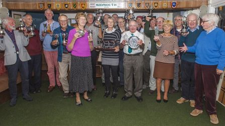 The Sidmouth Croquet Club winners of 2019. Picture SCC