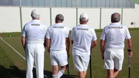Sidmouth croquet players in Austria.