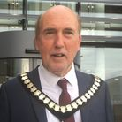 Cllr Stuart Hughes as chairman of the council. Picture: East Devon District Council