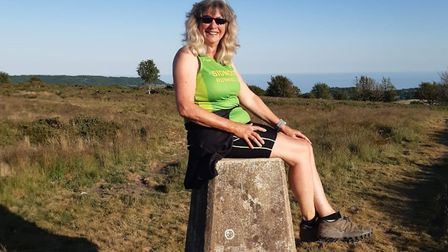Week three of Get-Back-To-Running and Julia Haddrell successfully climbed Fire Beacon Trig Point and