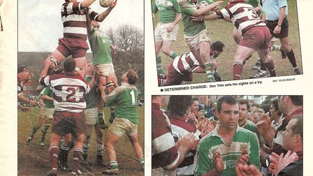 The Sidmouth Herald match report from the 2005 meeting with Sheffield. Picture TERRY OBRIEN