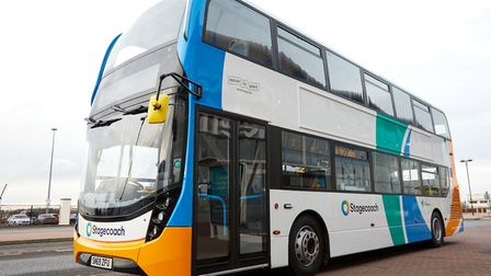 A Stagecoach bus. Picture: Shaun Flannery