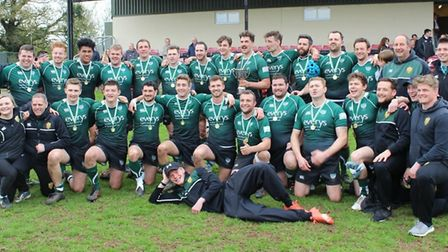 Sidmouth RFC after their 2018/19 Intermediate Cup success. Picture: SIDMOUTH RFC