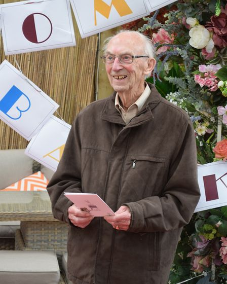 Lionel Smith at the garden centre. Picture: Sue Cade and Tony Seculer
