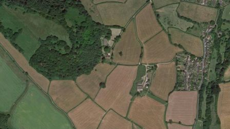 The Sid Valley has a rich network of hedgerows. Picture: Google Maps