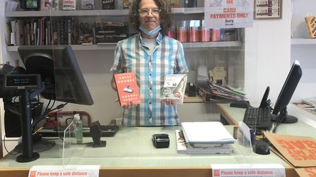 Carl East, manager of Winstone's independent bookshop. Picture: Maria McCarthy