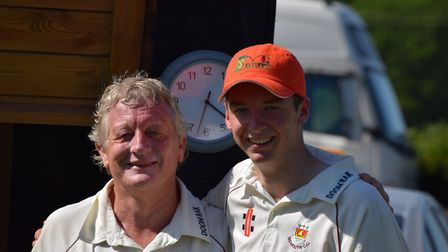 Byron Knowles and Graham Munday who smashed the previous best partnership in the 2nd XI B Division f