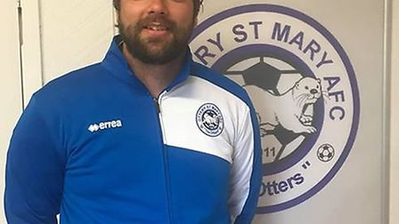 Ashley Smith, who has been appointed the new Reserve team manager at Ottery St Mary. Picture: OTTERY