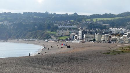 Seaton beach was given a Seaside Award Picture: Terry Ife