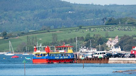 Stuart Line Cruises in Exmouth. Ref exe 21 19TI 1020151. Picture: Terry Ife