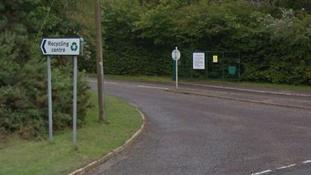 Exmouth Recycling Centre entrance. Picture: Google