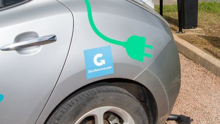 More electric car charging points are among the proposals for Ottery. Picture: Terry Ife