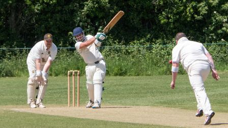 Alex Clements batting for Ottery against Alphington. Ref shsp 23 19TI 1020701. Picture: Terry Ife