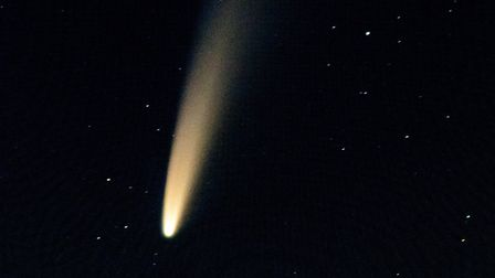Comet Neowise as seen from Venn Ottery at 2.30am on Saturday, July 11. Picture: Alex Walton Photogra
