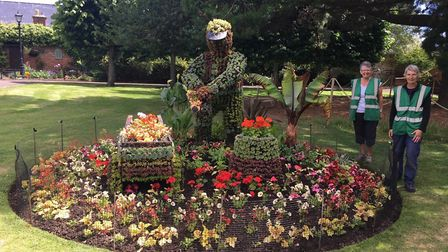 Tom the Gardener. Picture: Sidmouth In Bloom