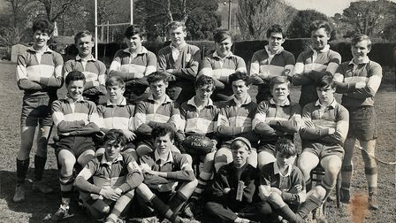 The Sidmouth RFC Colts team of 1965. Picture; SIDMOUTH RFC