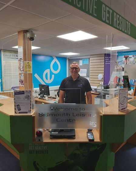 LED Leisure Sidmouth, manager Steve Reid. Picture: LED Leisure