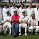 Alan Marsh (second from the right in the back row) in a Sidmouth CC 2008 2nd XI team picture. Pictur