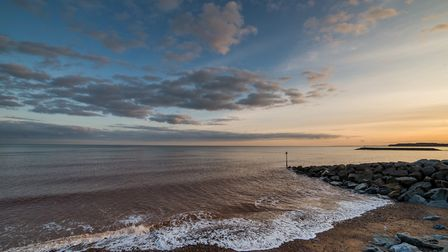 Sidmouth beach at sunset Picture: Alex Walton Photography