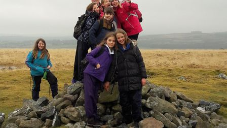Out on the moors with the scouts. Picture: 1st Ottery Scout Group