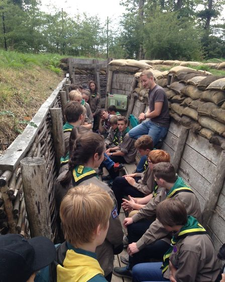 Outdoor activities with the scouts. Picture: 1st Ottery Scout Group