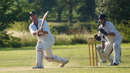 Chris Tubbs, who recorded his highest score for Tipton, 61, and also his first half century for the
