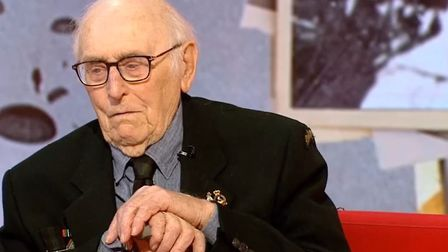 In an unprompted speech on BBC Breakfast, 100-year-old veteran Victor Gregg said Brexit is breaking