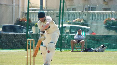 Action from Sidmouth Cricket Club Seconds v Exeter Cricket Club. Picture: Sam Cooper