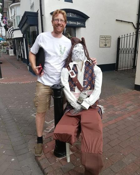 Sidmouth scarecrow competition. Picture: Amy Roles