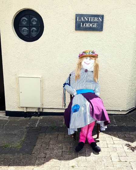 Sidmouth's scarecrow competition. Picture: Amy Roles