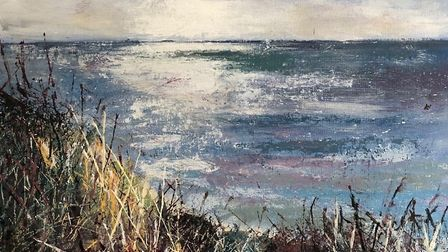 Seascape by Fiona Gale, winner of the May competition.