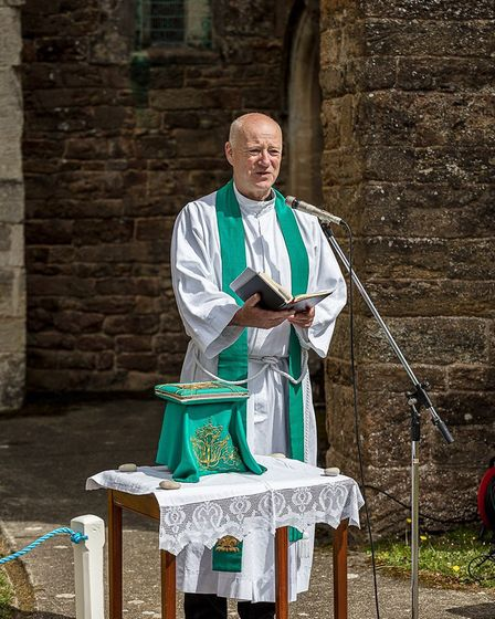 The Revd Steve Weston. Picture: Jan-Eric Osterlund