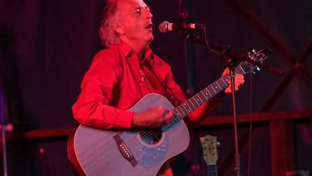 Steve McSmith performing at The Anchor Inn during Sidmouth Folk Festival. Picture; Kyle Baker Photog