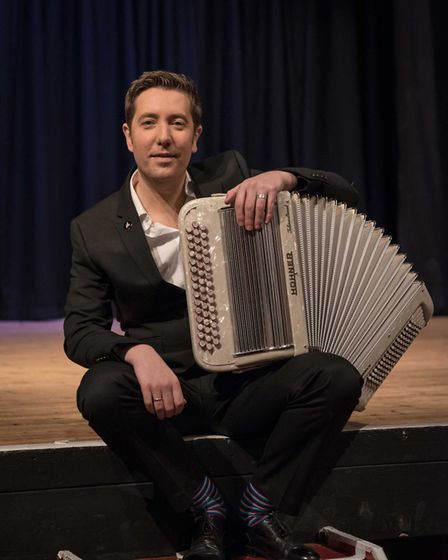 Jim Causley at this year's online Sidmouth Folk Festival Picture: Sidmouth Folk Festival