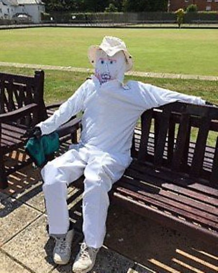 Mr White who has been in attendance at all the recent Sidmouth Bowl Club meetings. Picture; CAROL SM