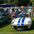 Vehicles on display at Chanters Carnival Classics last year. This year's event will be run under cov